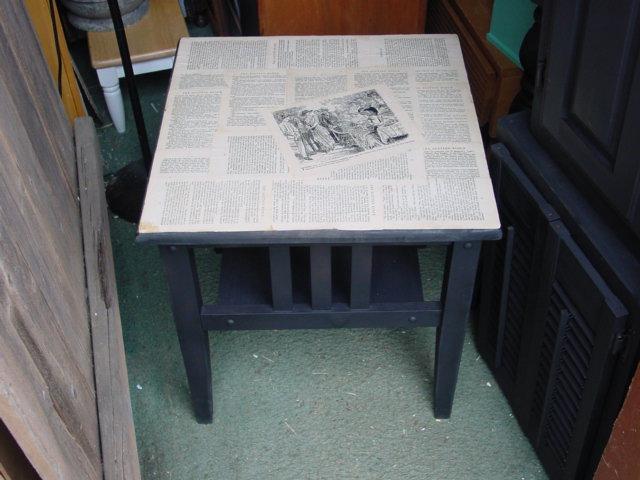 Decoupage Old Book Pages Aj S Trash2treasure Blog