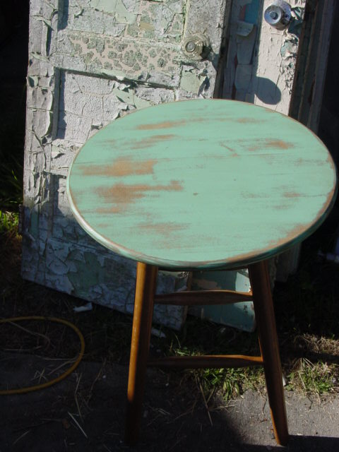 Repurposed Bar Stool Aj S Trash2treasure Blog
