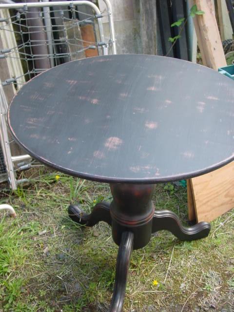 primitive black furniture  AJs TrashTreasure BLOG