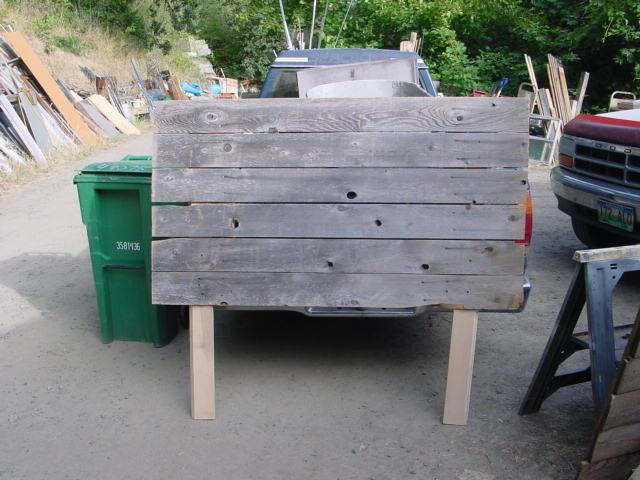 Rustic Wooden Headboard Plans