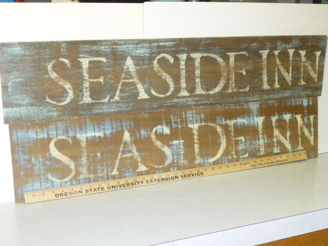 Making Signs From Old Cedar Siding Aj S Trash2treasure Blog