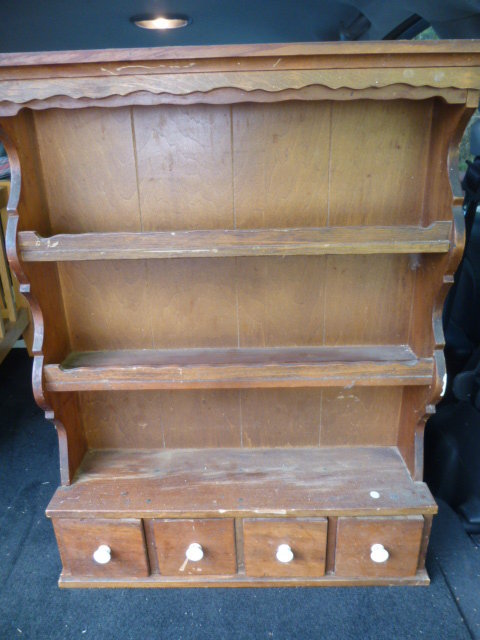 At first I thought it WAS a spice rack and I couldn\u0027t understand why it was so much bigger!?! & vintage collectible plate rack | AJ\u0027s Trash2Treasure BLOG
