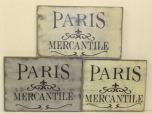 "$32. PARIS MERCANTILE: 9"" X 15"""