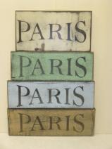 """$12. PARIS: 4"""" X 9"""""""