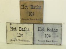 "$10. HOT BATHS: 8"" X 8"""