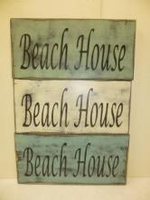 """$22. BEACH HOUSE: 6"""" X 16"""""""