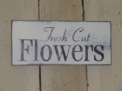 "$19. FRESH CUT FLOWERS: 6"" X 12"""