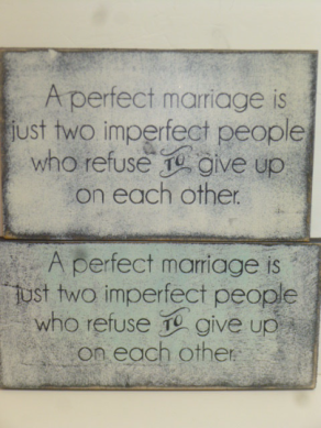 "$24. PERFECT MARRIAGE: 6"" X 14:"