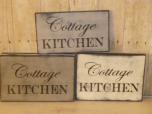 "$22. COTTAGE KITCHEN: 10"" X 7"""