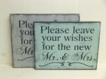 """$29. PLEASE LEAVE YOUR WISHES: 10"""" X 12"""""""
