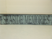 "$29. SEASIDE MEMORIES: 6"" X 26"""