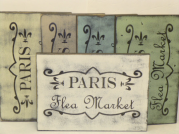 "$32. PARIS FLEA: 9"" X 13"""
