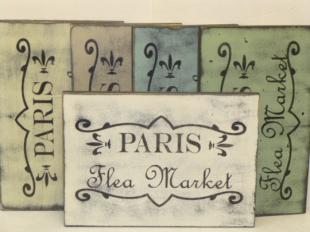 """$32. PARIS FLEA: 9"""" X 13"""""""