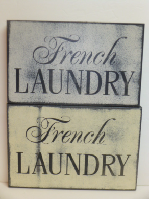 $24. FRENCH LAUNDRY 10″ X 6″
