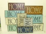 "$19. HOME: 6"" X 13"""