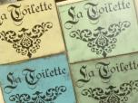 "$29. LG LA TOILETTE: 12″ x 12"" X"
