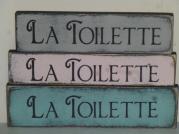 "$14. LA TOILETTE -SM: 4"" X 13"""