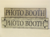"$25/29. PHOTO BOOTH: 7"" X 25"""