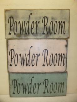 """$19. POWDER ROOM: 6"""" X 13"""""""