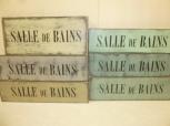 $17. SALLE DE BAINS: 4″ X 12″