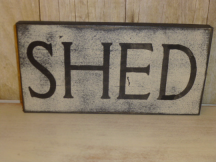 "$10. SHED: 5"" X 9"""