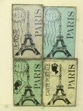 """$19. PARIS COLLAGE: 8"""" X 12"""""""