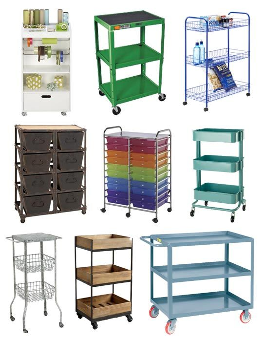 My U0027make Dou0027 Rolling Craft Storage Cart. 02d27921b683ce3345840c281db3def7